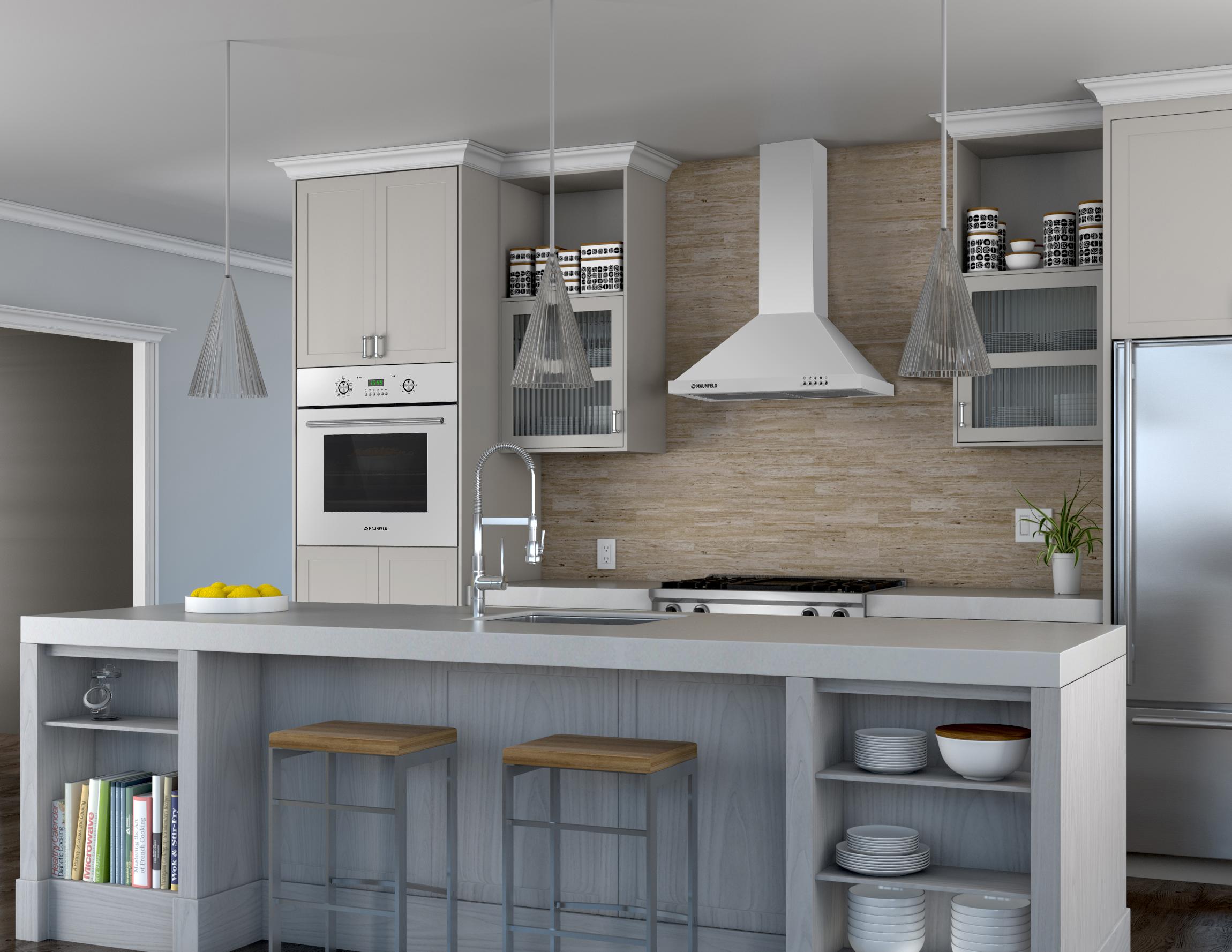 Вытяжка для кухни в интерьере фото